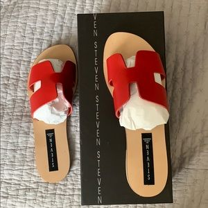Steven by Steve Madden Greece Sandals size 8